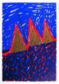 Hajnali angyal, 1997, 63x43 cm