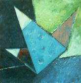 Angyal érkezik, 2002, 40x40 cm