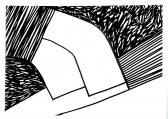 Viszonyok, 1999, filctoll, papír, 20x24 cm (Miki)