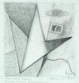 A nagy utazás, 2001, c, papírr, 17,5x16,5 cm