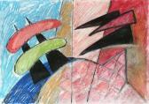 Vázlat (Az út, 1956-06), 2006, vegy tech, papír, 21x29,5 cm