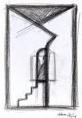 Angyalkapu, 2006, c, papír, 38x26 cm