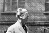SEBESTÉNY Ferenc festőművész (osztályfőnök), Képző- és Iparművészeti Gimnázium, Budapest, 1967,