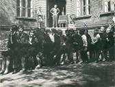 Ballagás, Képző- és Iparművészeti Gimnázium, Budapest, 1967,