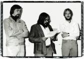 Stúdió Galéria (megnyitja: HANN Ferenc; balra: CHIKÁN Bálint; jobbra: AKNAY János), Budapest, 1979,