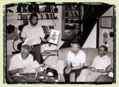 A wertheimi testvérvárosi delegáció Aknayéknál, Szentendre, 1989,