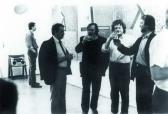 Csepel Galéria (jobbról: AKNAY János, SÁRKÁNY István, SOMOGYI György), 1994,