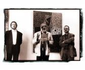 Kultúrpalota (megnyitja: HANN Ferenc; balról: AKNAY János; jobbról: BARTHA József), Marosvásárhely, 1997,