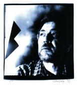 50. születésnapi portré, Szentendre, 1999 (fotó: Aknay Csaba) ,