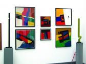 VLS 1972-2002, kiállításrészlet, Műcsarnok, Budapest, 2002 (fotó: Gosztola Gábor),