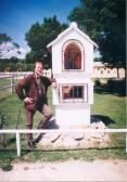 """""""Fülkeszentjének"""" avatóján, Nagycenk, Ilona-major, 2003,"""