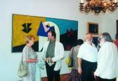 Horváth & Lukács Gyűjtemény (jobbról: HANN Ferenc, HORVÁTH László, AKNAY János), Nagycenk, 2004,