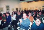 Az Angyalos könyv bemutatója (jobbról a második: WESZELITS András), MűvészetMalom, Szentendre, 2004,