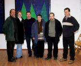 Bernády Ház (balról: AKNAY János, SZEPESSY Katika, SZEPESSY László, NÁDASINÉ AKNAY Zsuzsa, SZEPESSY Előd, NOVOTNY Tihamér), Marosvásárhely, 2005,