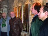 Emlékezés '56-ra (balról: DEIM Pál, HOFFMANN István, AKNAY János, VINCZE Ottó), VLS Pm, Szentendre, 2006,